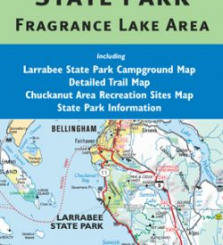 Larabee State Park Map - Including Fragrance Lake Area