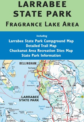 Larabee State Park Map - Including Fragrance Lake Area