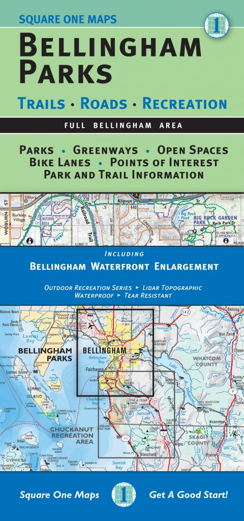 Bellingham Parks Map - Full Bellingham Area